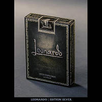 Карты игральные   Leonardo (Silver Edition) by Legends Playing Card Company