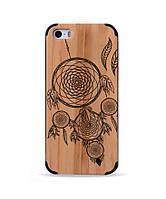 Деревянный чехол с гравировкой для Apple iPhone 5 Dream Catcher Ловец Снов