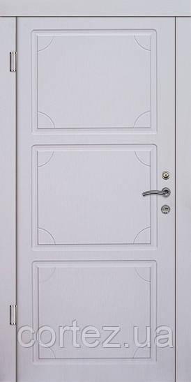 Входные двери Стандарт Корсика белые