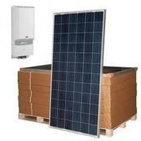 Сетевая солнечная электростанция SE-S5 ABB/Amerisolar