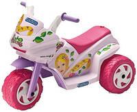 Детский электромобиль мотоцикл  Peg Perego Mini Princess