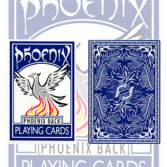 Карты игральные | Phoenix Deck (Blue) by Card-Shark