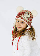 Детская шапка СКАЙЛАЙН (набор) для девочек  размер 44-46-48