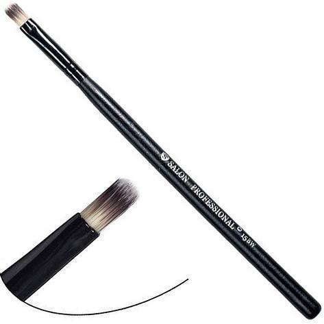 Salon Prof. Кисть для макияжа  15BW (малая) плоская прямая 9х6мм, фото 2