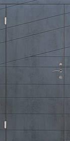 Вхідні двері Діагональ серії Стандарт