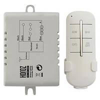 Выключатель дистанционный HOROZ ELECTRIC 3-канал CONTROLLER-3 Wireless 1000Вт 30-60м 220В
