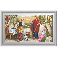 """Набор алмазной живописи """"Иисус, Марфа и Мария"""""""