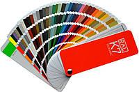 Цветовая палитра Ral (внутри палитра для выбора цвета)