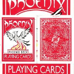 Карты игральные | Phoenix Deck (Red) by Card-Shark