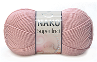 Nako Super Inci светло-розовый  № 10215