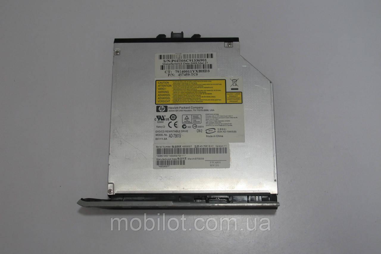 Оптический привод HP DV4-1225 (NZ-3357), фото 1