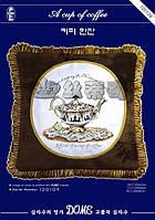 """Набор для вышивания """"Чашка кофе"""" DOME 120109"""