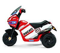 Детский электромобиль мотоцикл  Peg-Perego Ducati Desmosedici