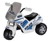 Детский электромобиль мотоцикл Peg-Perego Raider Police