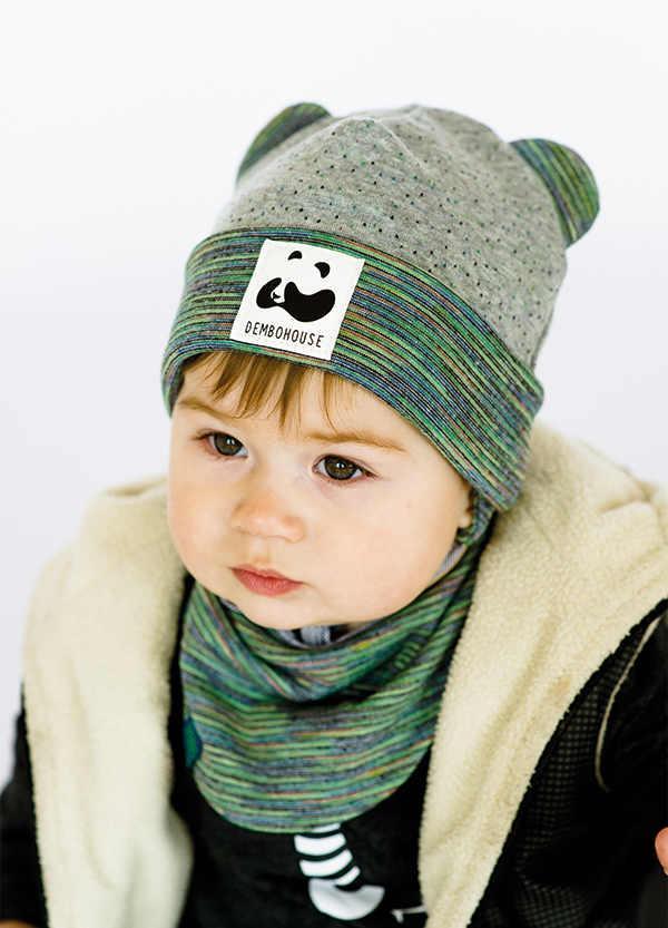 Детская шапка ГАМИЛЬТОН (набор) для малышей оптом размер 42-44-46