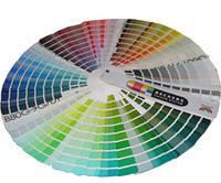 Цветовая палитра NCS (внутри палитра для выбора цвета)