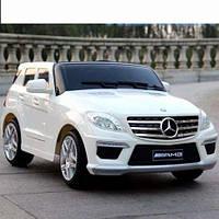 Детский Электромобиль Mercedes ML 63 ELR-1, белый
