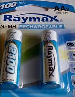 Аккумулятор (2шт.) Raymax HR6 1.2V 2100mAh Ni-MH AA