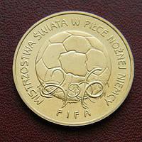Польша 2 злотых 2006 Спорт Футбол ЧМ'2006 Германия, фото 1