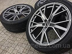 22 оригинальные колеса на Audi Q7