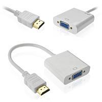 Адаптер HDMI на VGA  Преобразователь HDMI сигнал на VGA