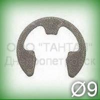 Шайба 9 нержавеющая ГОСТ 11648-75 (DIN 6799) упорная быстросъёмная