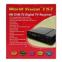 Цифровой эфирный ресивер World Vision T57 DVB-T2