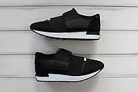 Женские кроссовки Balenciaga black / white