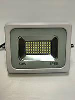 Светодиодный прожектор PREMIUM Slim ECO Tablet SMD SL-2750 50W 6500K IP65 белый Код.57029