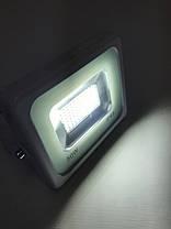 Светодиодный прожектор PREMIUM Slim ECO Tablet SMD SL-2750 50W 6500K IP65 белый Код.57029, фото 3