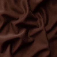 Ткань французский трикотаж - цвет темно-коричневый