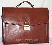 Портфель из натуральной кожи Катана 68133