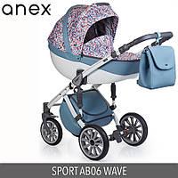 Детская универсальная коляска 2 в 1 Anex Sport 2017  Q1(AB06) WAVE