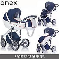 Детская универсальная коляска 2 в 1 Anex Sport 2017  Q1(SP08) DEEP SEA