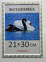 Фоторамка пластиковая 21х30, рамка для фото 1813-14