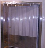 Термозавесы из ребристой ПВХ проем 2 х 2 м.