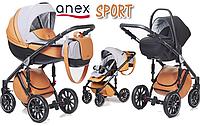 Детская универсальная коляска 3 в 1 Anex Sport 2017