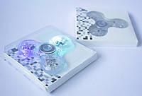 Спиннер прозрачный с подсветкой