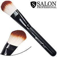 Salon Prof. Кисть для макияжа 0636 (большая) полу-плоская закругленная 35х25мм
