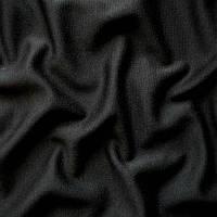 Ткань французский трикотаж - цвет черный