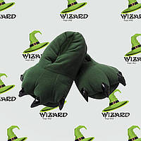 Тапочки кигуруми (зеленые)