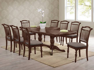 """Большой стол для гостиной """"Палермо"""" (орех)"""