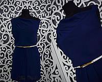 """Легкое женское платье """"шифон"""" 42, 44 размер норма"""