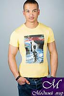 Качественная мужская футболка (р. 44-52) арт. 306-2