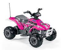 Детский квадроцикл Peg-Perego Corral Bearcat Pink