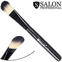 Salon Prof. Кисть для макияжа 0707 (большая) полу-плоская закругленная 27х16мм