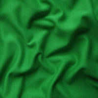 Ткань французский трикотаж - цвет зеленый