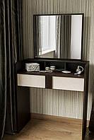 Компактный будуарный столик с  зеркалом BS-1 венге