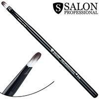 Salon Prof. Кисть для макияжа 0816 (малая) плоская удлиненная закругленная 9х4мм