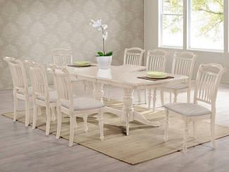 "Большой стол для гостиной ""Палермо"" (айвори лайт)"